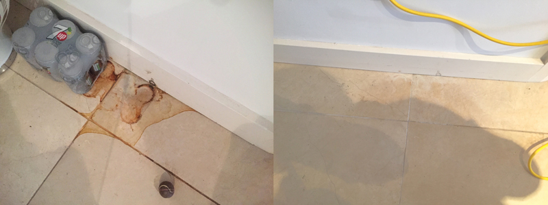 Restoring A Marble Floor To A Satin Finish Csb Cleaning Ltd