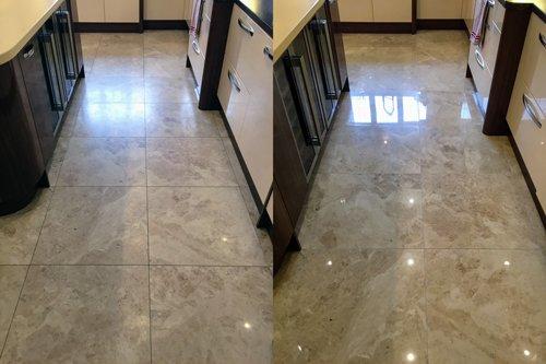 Marble floor cleaning Swansea