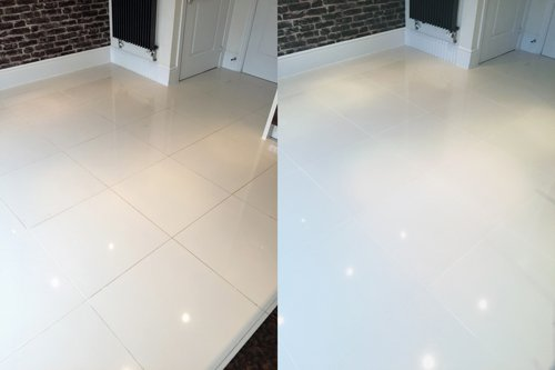 porcelain floor cleaning