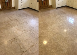 seabed limestone floor cleaning