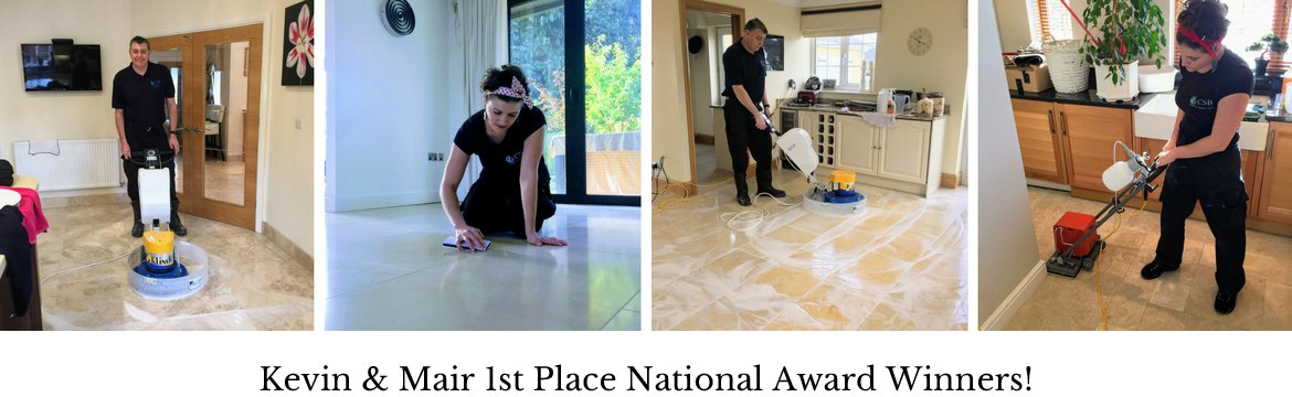 Stone floor cleaning Barry company