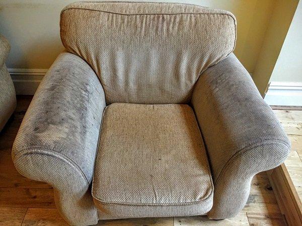 sofa cleaners Bridgend dirty armchair